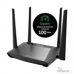 Roteador Smart Dual Band Gigabit 10/100/1000 Action Rg 1200